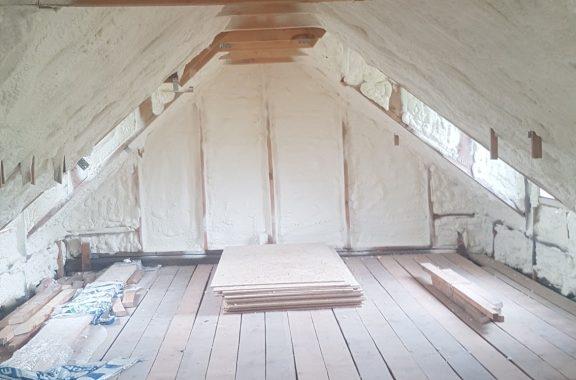 Efektingas stogų apšiltinimas
