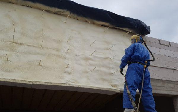 Fasado apšiltinimas poliuretanu