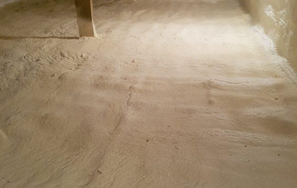Grindų šiltinimas poliuretano putomis - termovata