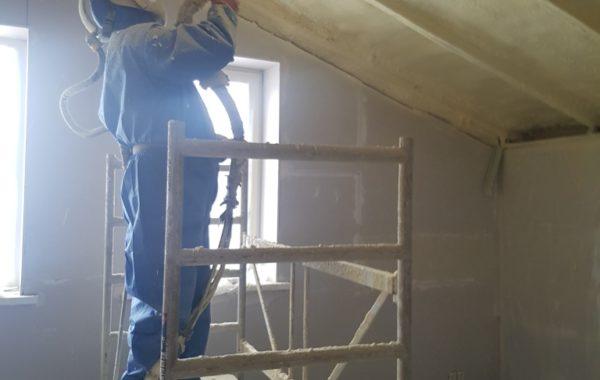 A klasės namai apšiltinti termoputa